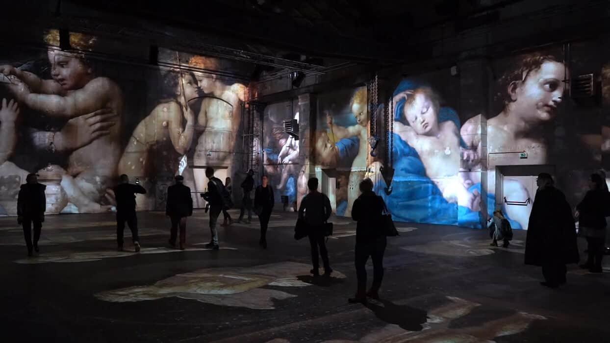 Einblick in die RENAISSANCE experience Ausstellung